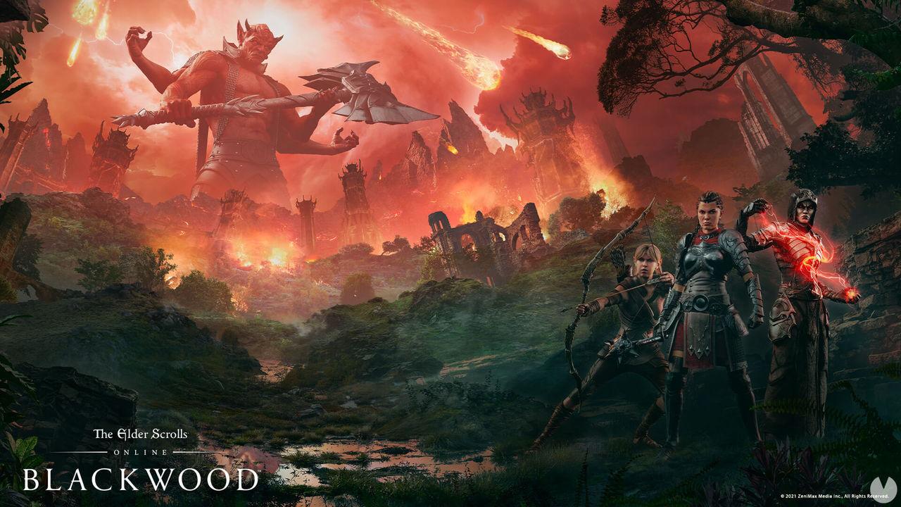 TESO: Blackwood, el primer episodio de Gates of Oblivion, ya está disponible en PC y Stadia