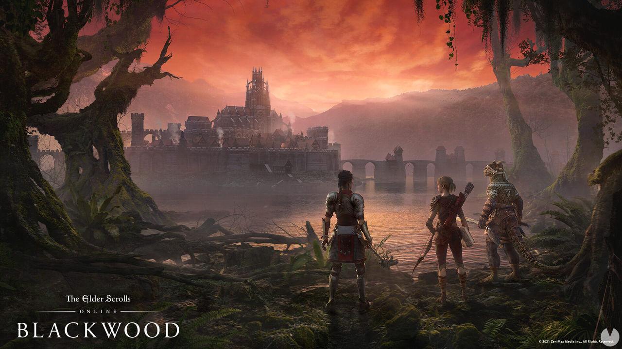 Key Art de The Elder Scrolls Online: Blackwood.