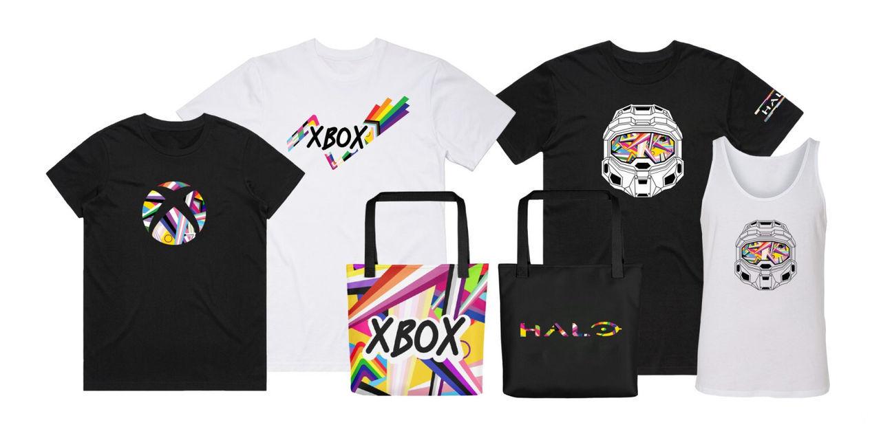 Mando de Xbox con diseño LGTBQIA+.