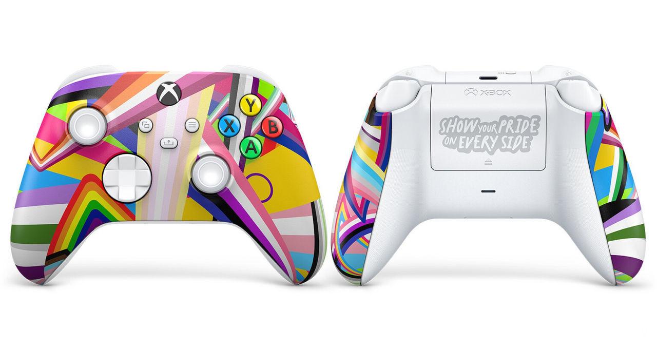Colección orgullo LGTBQIA+ de Xbox.