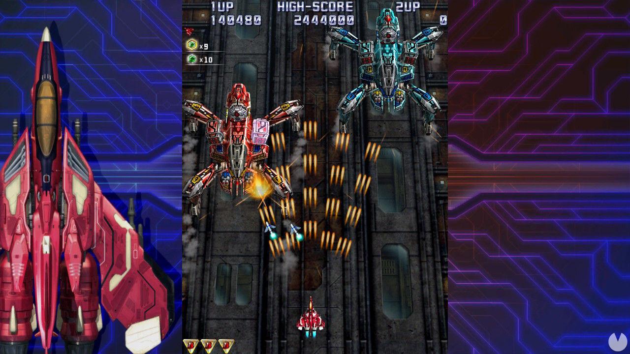 El icónico shoot'em up Raiden IV x MIKADO Remix llegará a las Switch europeas en verano