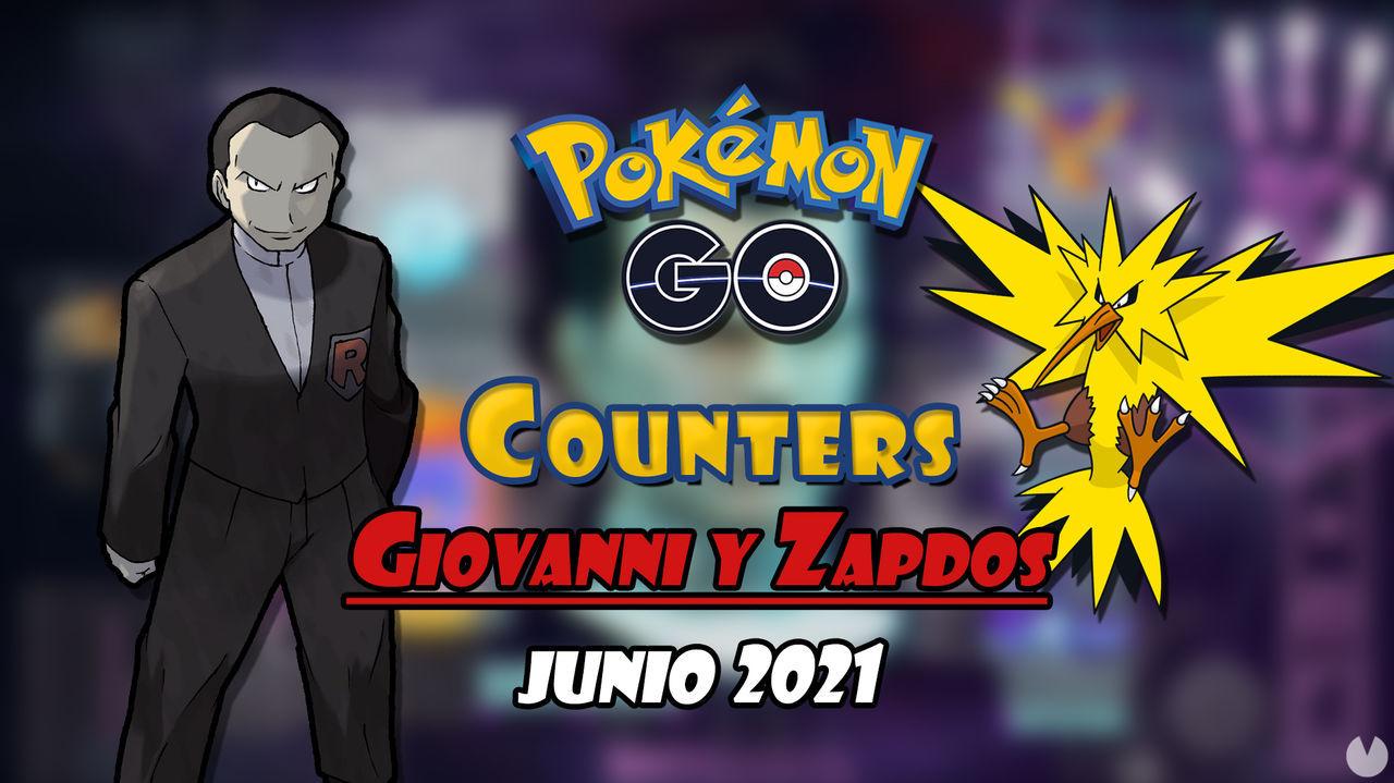 Pokémon GO: Cómo vencer a Giovanni y Zapdos (junio 2021) - Mejores counters