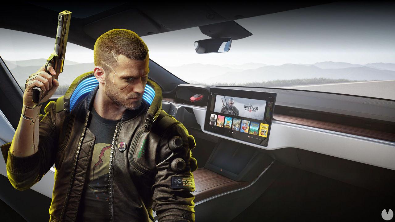 Los coches Tesla tendrían suficiente potencia gráfica como para ejecutar Cyberpunk 2077