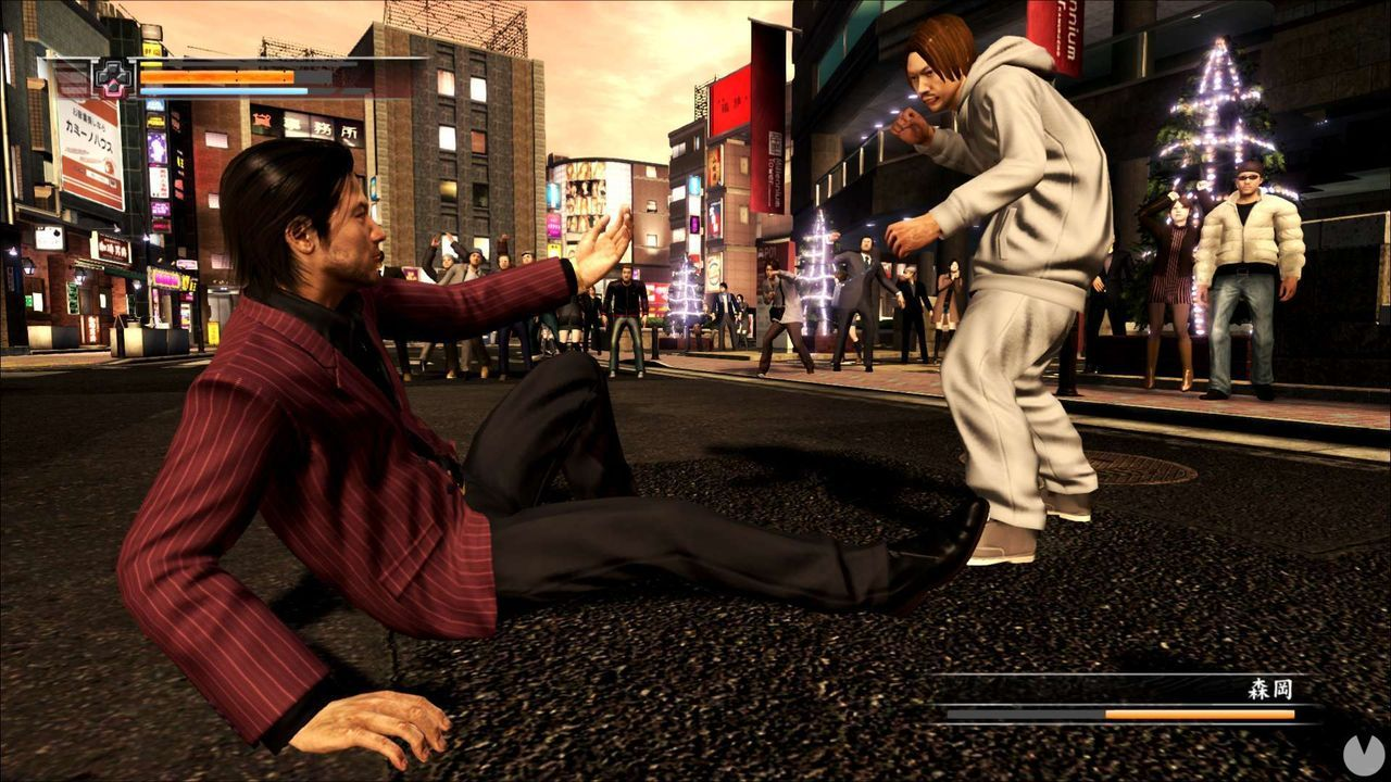 Yakuza 4 for PS4 can be seen in new images