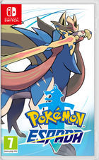 Carátula Pokémon Espada y Escudo para Nintendo Switch