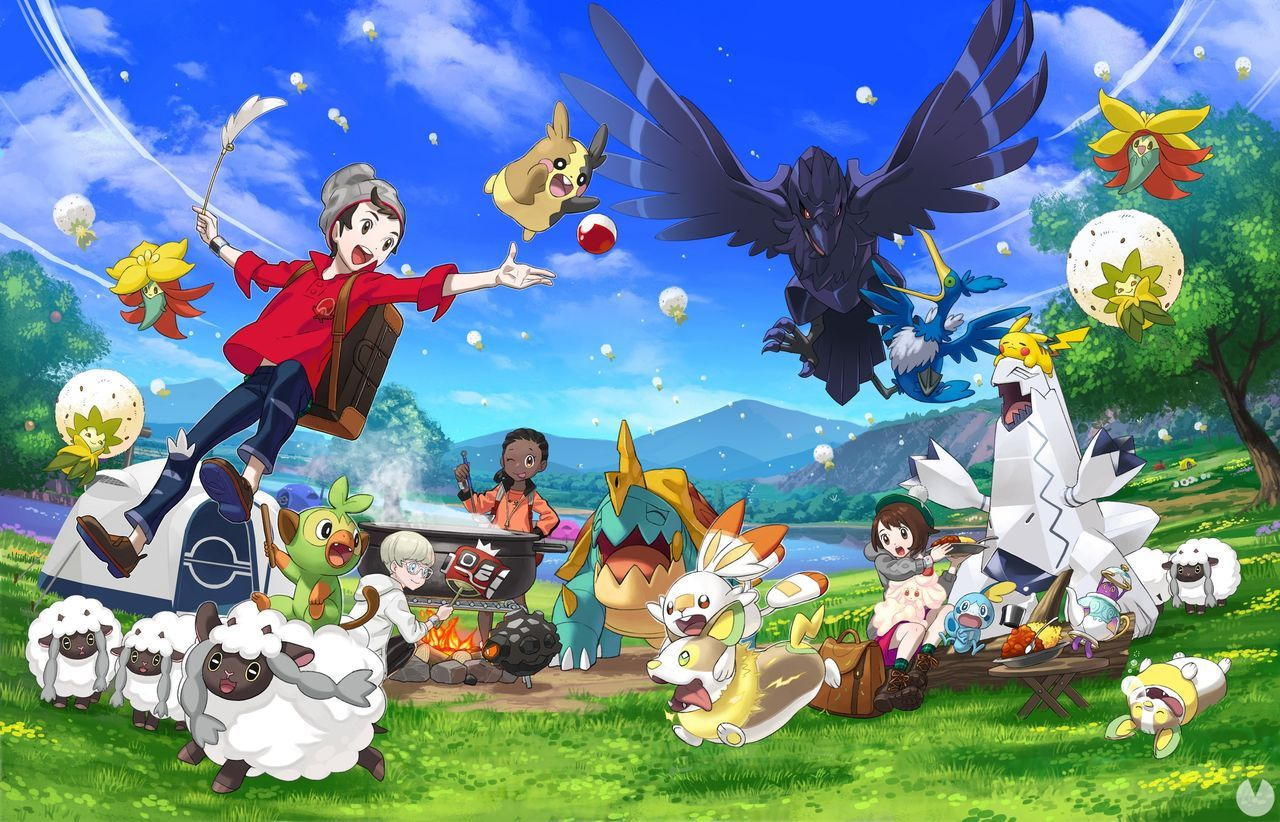 Pokémon Sword and Shield exceeds three days, 1.36 million sales in Japan