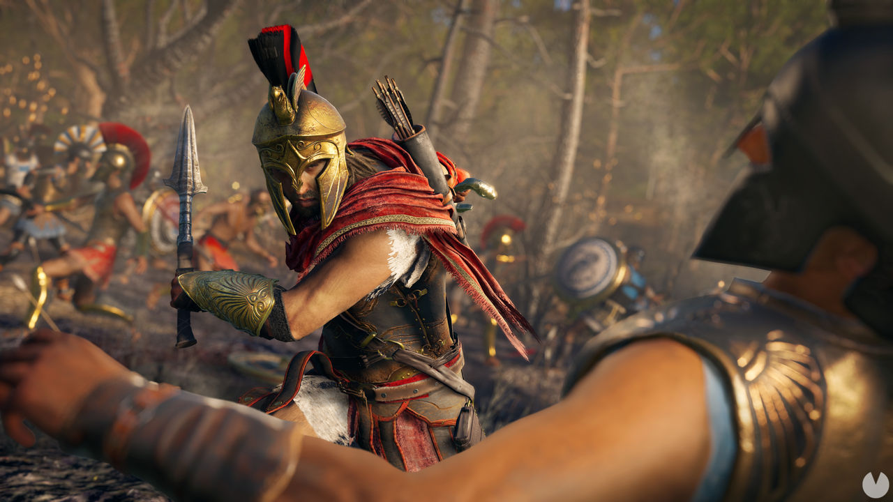 this is the launch trailer for Assassin's Creed Odyssey
