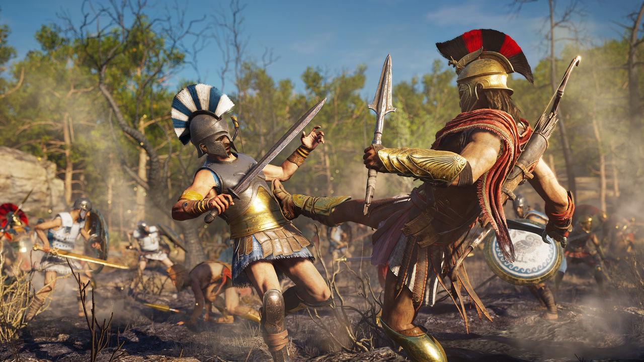 Assassin's Creed Odyssey vende menos en España que AC: Origins en su debut