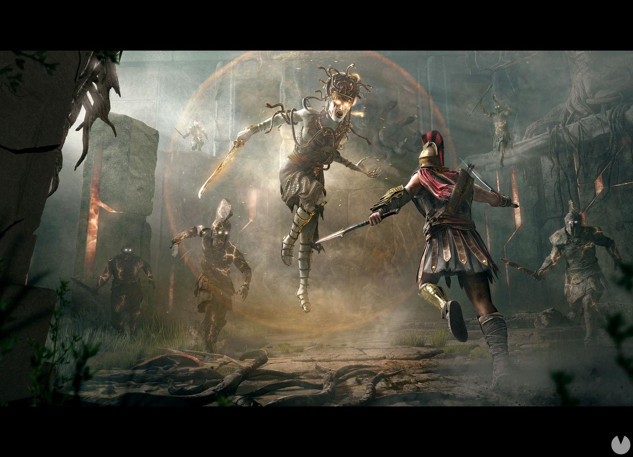 Assassin's Creed Odyssey nos invita a cazar a Medusa en su nuevo vídeo