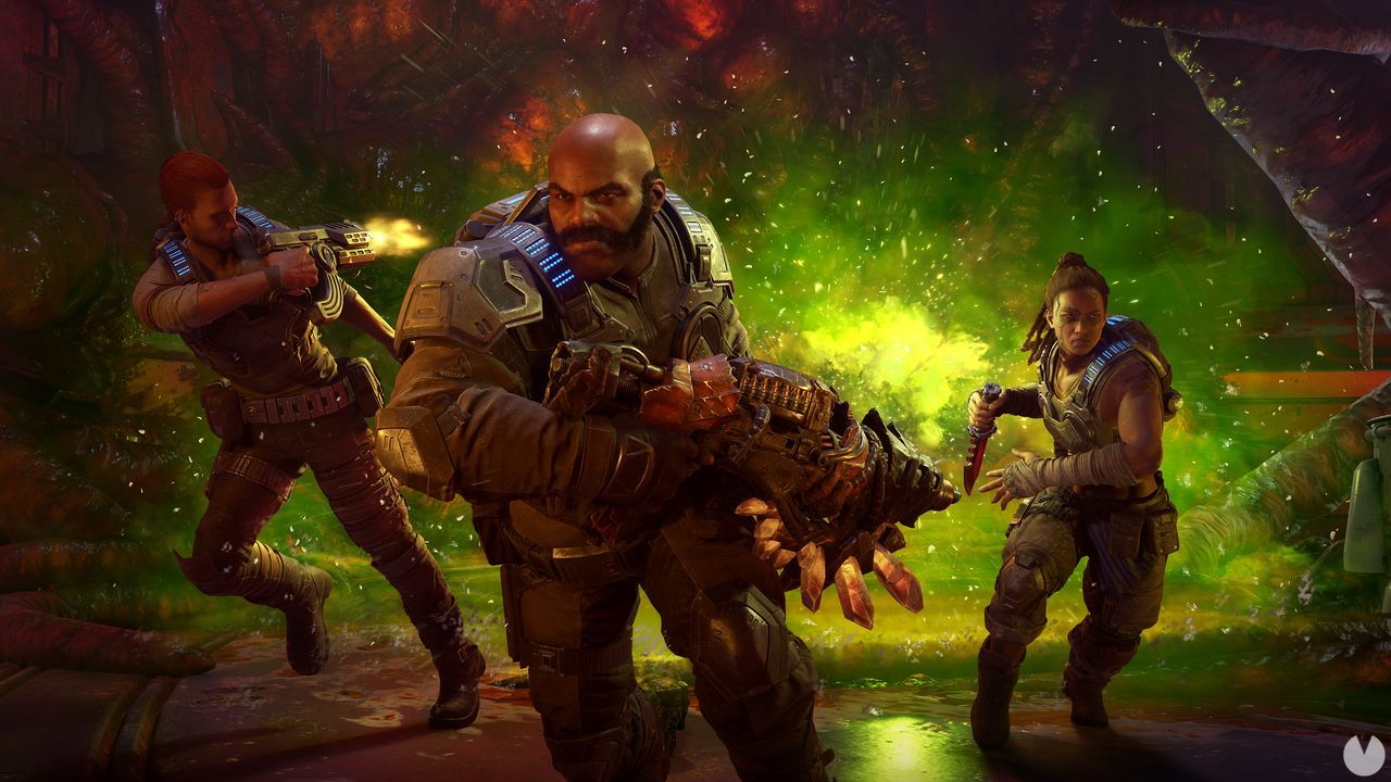 Gears 5 shows their training mode and more gameplay video