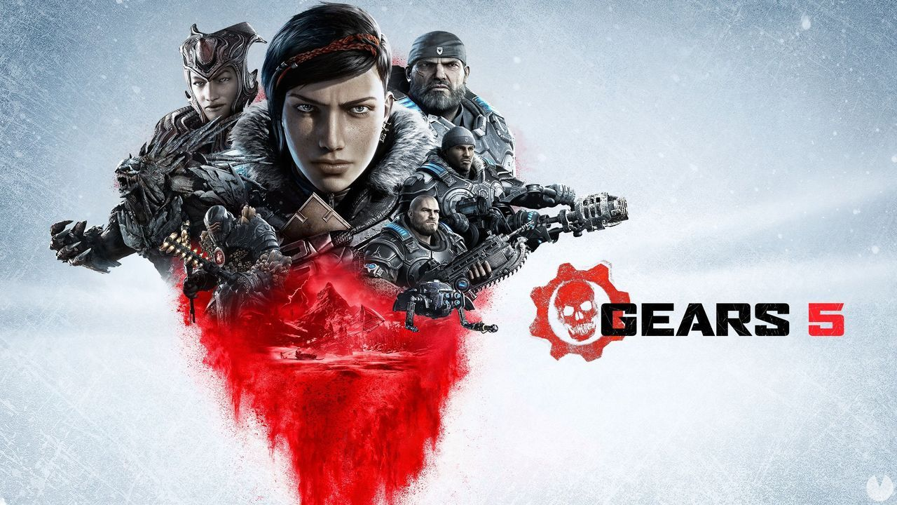 Gears of War 5 shows your promotional image
