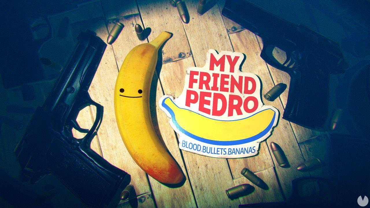 Los plátanos y la acción de My Friend Pedro llegará en junio a PC y Switch