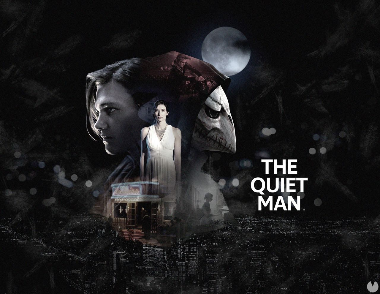 The Quiet Man will have sounds and voices in your second item
