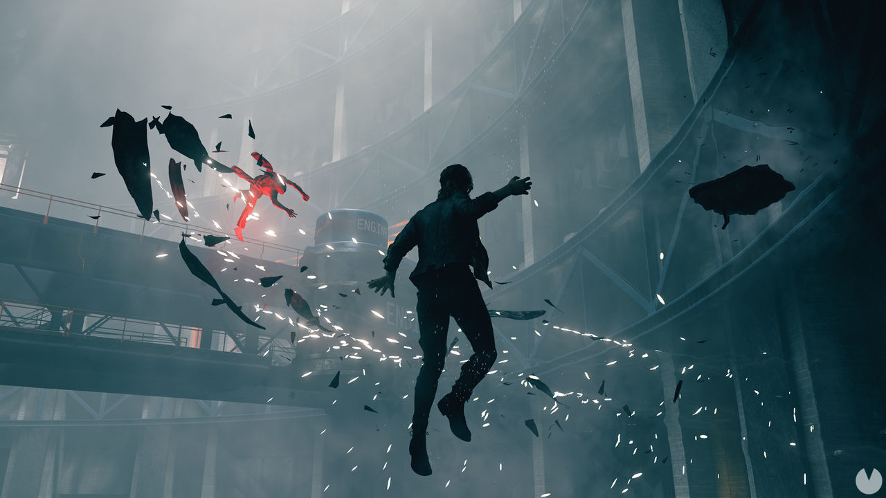 Remedy shows a battle against boss in Control