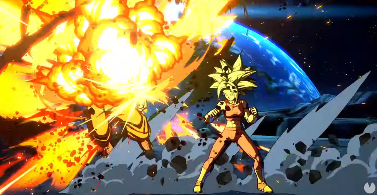 Goku Ultrainstinto is shown in Dragon Ball Fighterz; Kefla will come in the new season