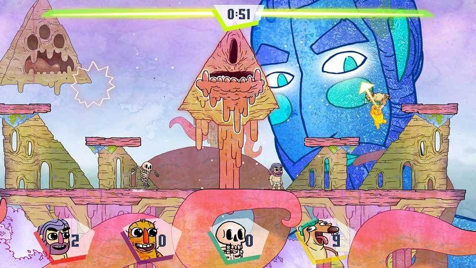 El caótico y competitivo Slam Land llegará el 7 de agosto a PC y consolas