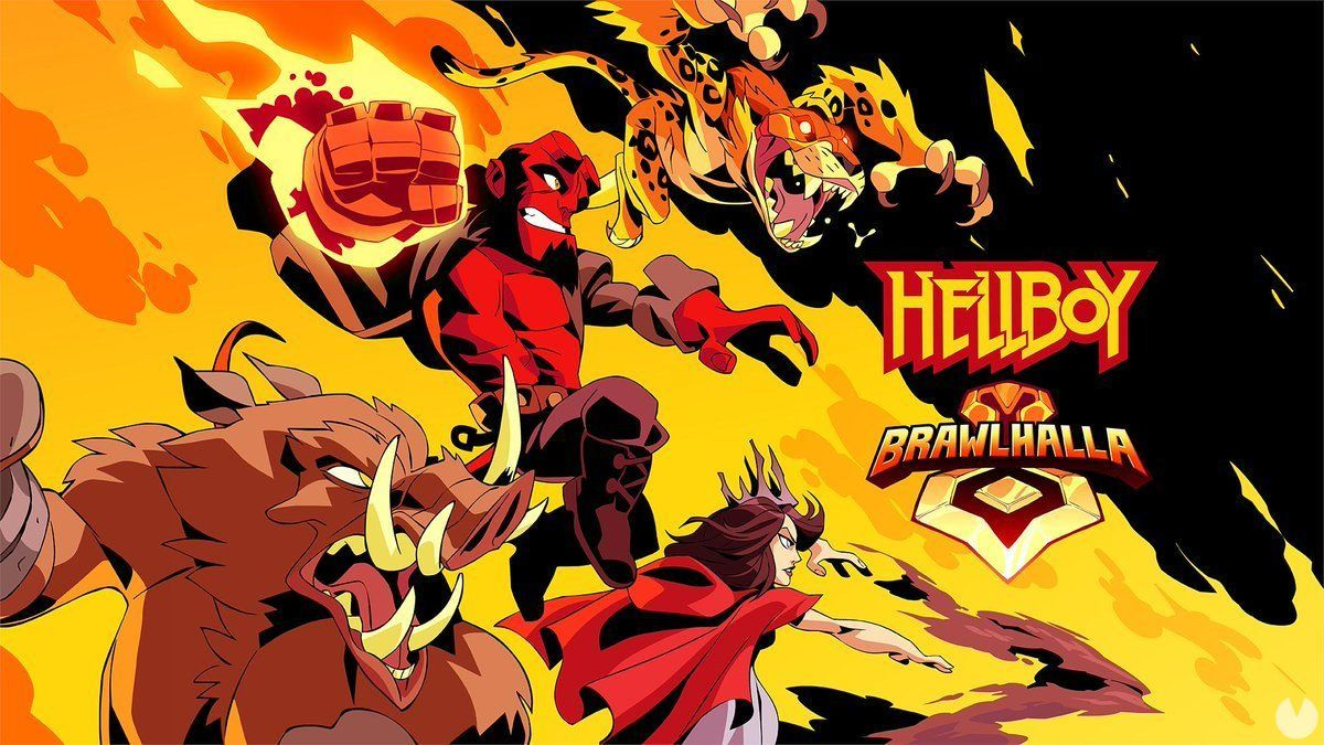 Hellboy will Brawlhalla in April along with three other characters