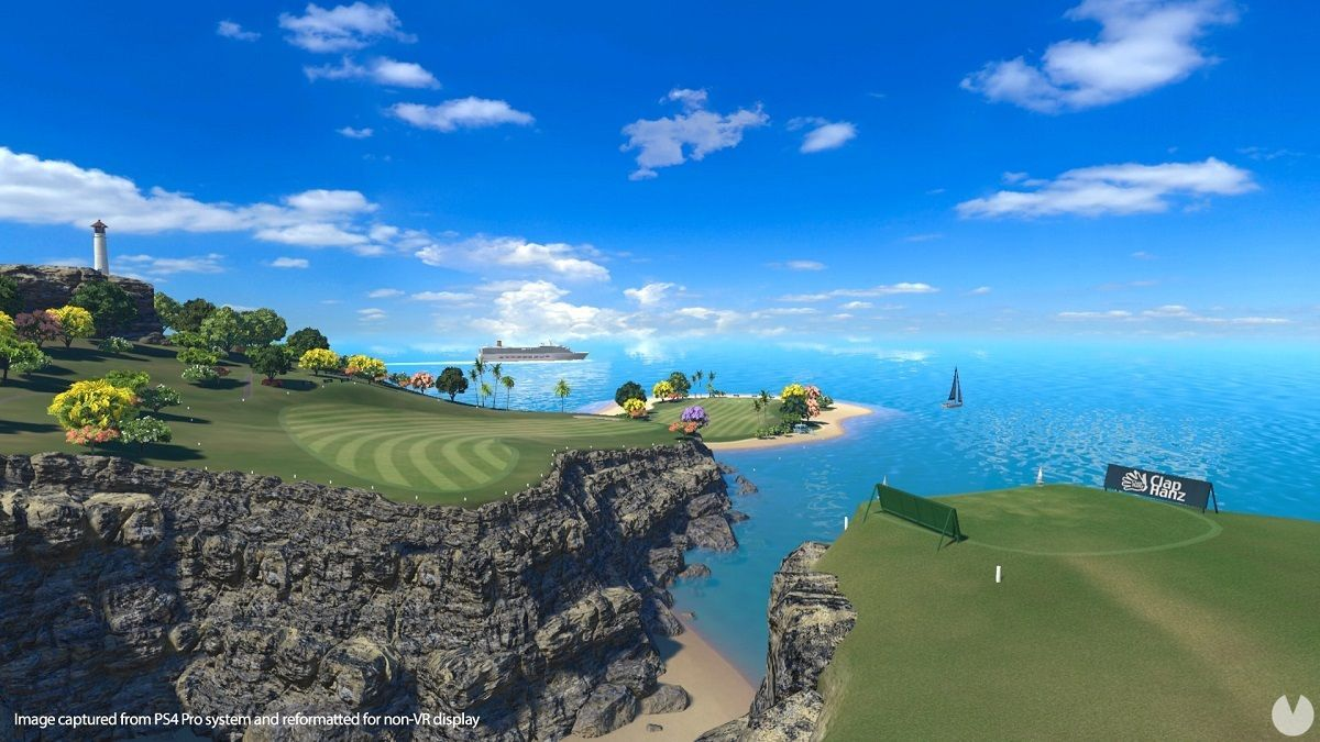 now available the demo of Everybody's Golf VR