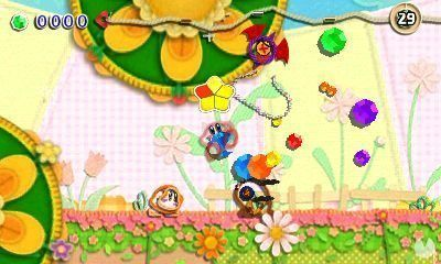 More Kirby in the kingdom of the threads is shown in new images