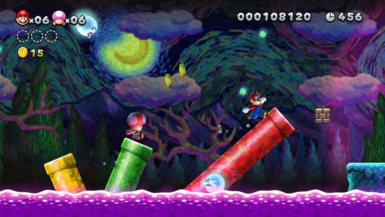 New Super Mario Bros. U Deluxe presenta su tráiler de lanzamiento
