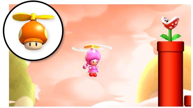 Mario Ardilla Voladora - New Super Mario Bros. U Deluxe