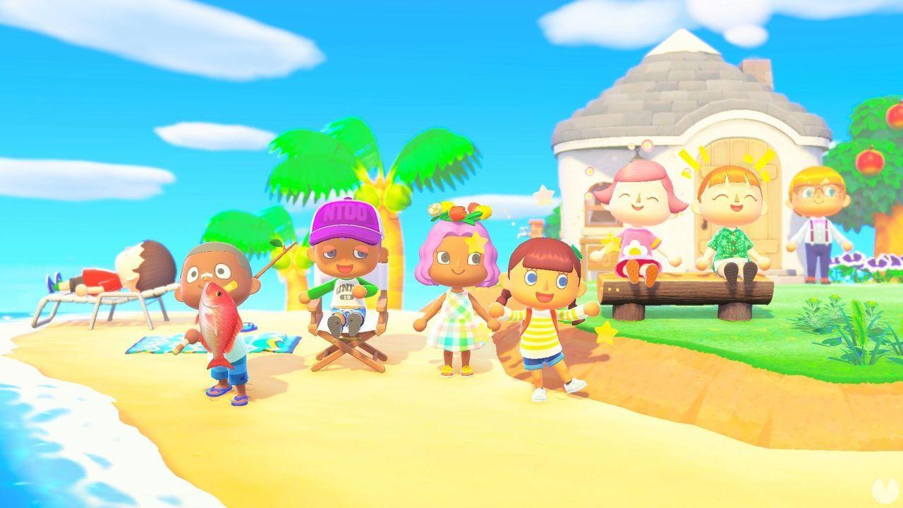 Animal Crossing: New Horizons aura un appareil photo dans le style classique de la GameCube