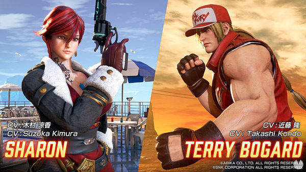 Terry Bogard and Sharon come to Fighting EX Layer the march 26