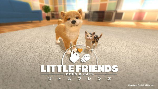 now available is the adorable Little Friends: Dogs and Cats for Switch