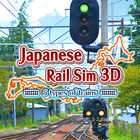 Carátula Japanese Rail Sim 3D 5 types of trains eShop para Nintendo 3DS