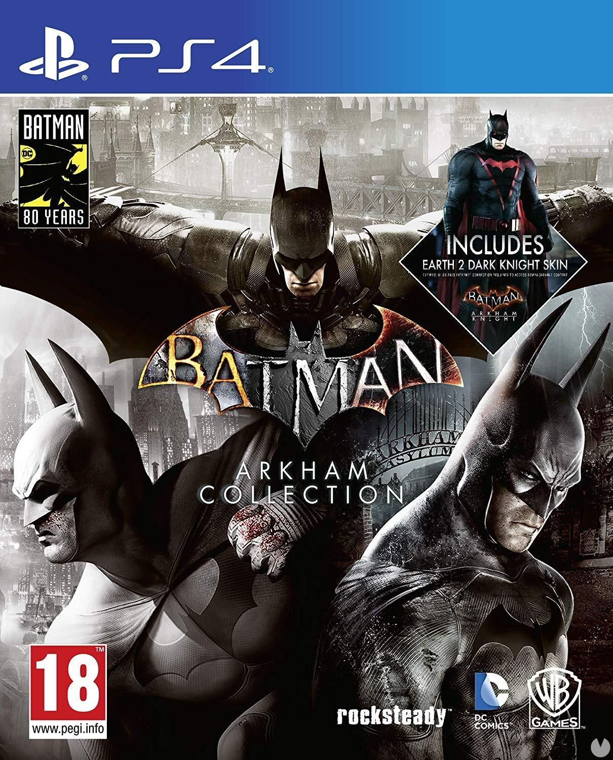 The Batman Arkham Collection will edition physics the 6th of September