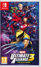Carátula Marvel Ultimate Alliance 3: The Black Order para Nintendo Switch