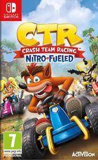 Carátula Crash Team Racing Nitro-Fueled para Nintendo Switch