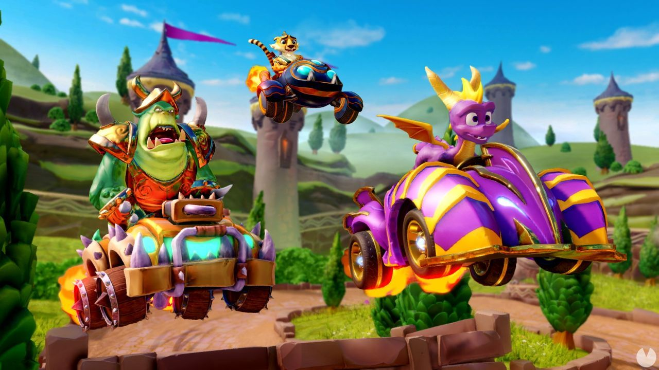 Crash Team Racing Nitro-Fueled addition to a matchmaking system for online games