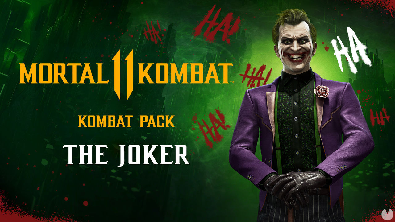 Mortal Kombat 11: The Joker is presented in a new trailer and will arrive on the 28th of January