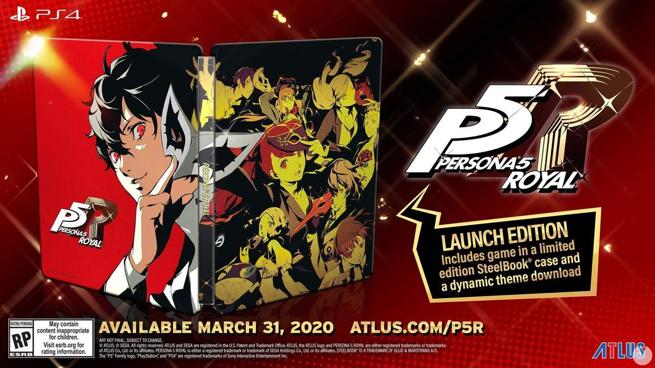 Person 5 Royal will arrive on the 31st of march to PS4