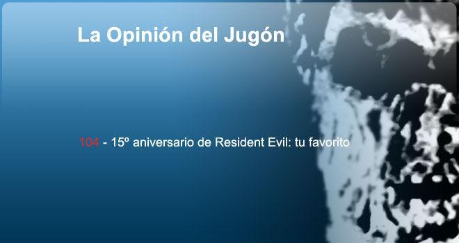 15 aniversario de Resident Evil: tu favorito