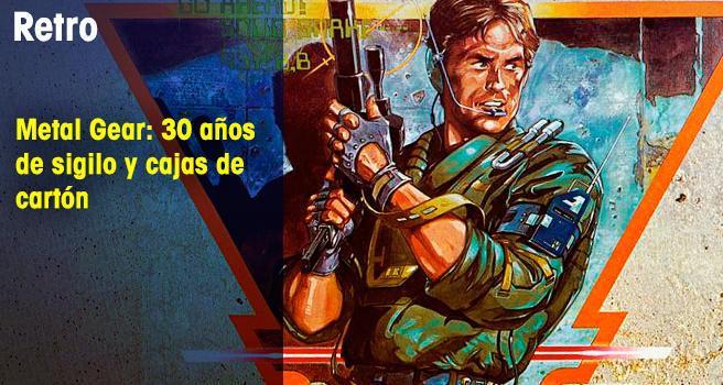 Metal Gear: 30 años de sigilo y cajas de cartón