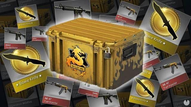 Counter-Strike elimina las cajas de botín en Bélgica y Países Bajos