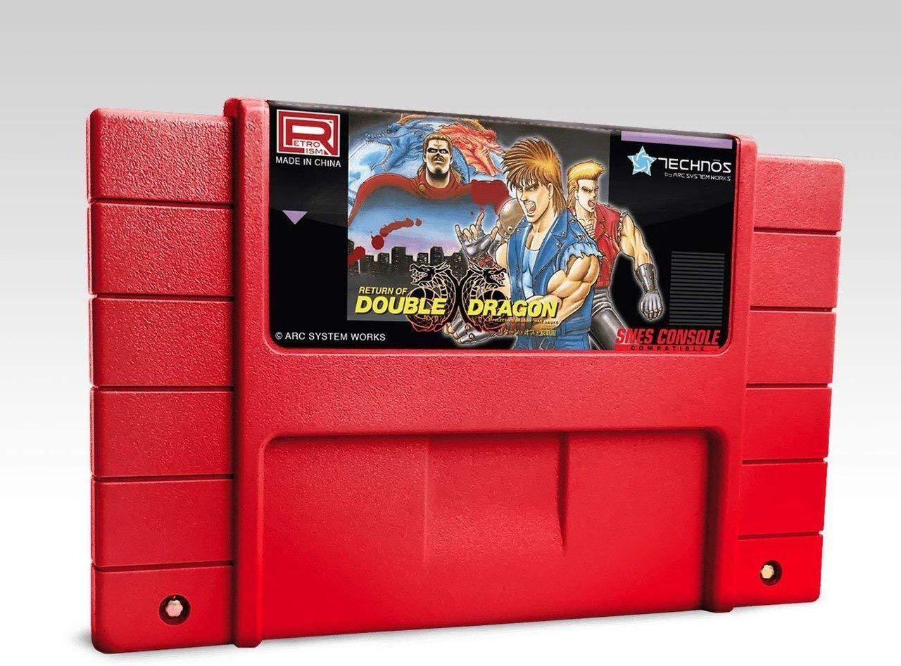 Return of Double Dragon llegará con una versión inédita en cartucho a SNES