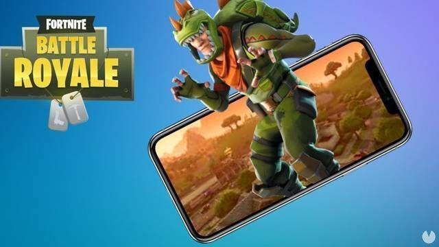 El lanzamiento de Fortnite Battle Royale para Android sería inminente