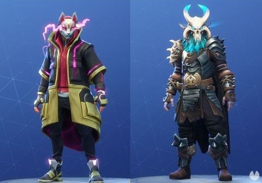 Fortnite, Fornite, Fortnite Battle Royale, Battle Royale, Skins, Temporada 5, Season 5, T5, S5, Deriva, Drift, Ragnarok, Kitsune, Ninja, Vikingo, Kratos