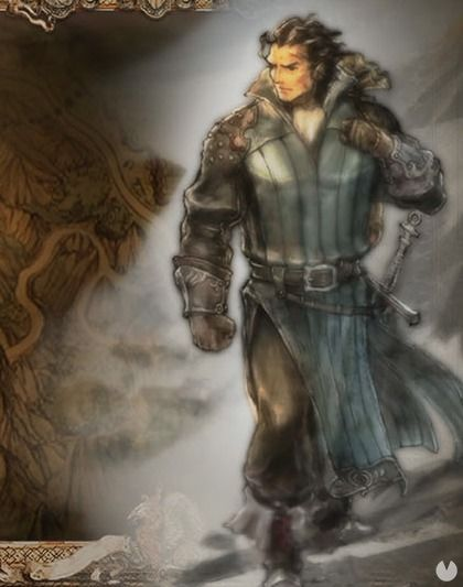 Octopath Traveler, OT, Octopath, Personajes, Olberic