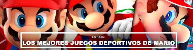 Los mejores juegos deportivos de Mario