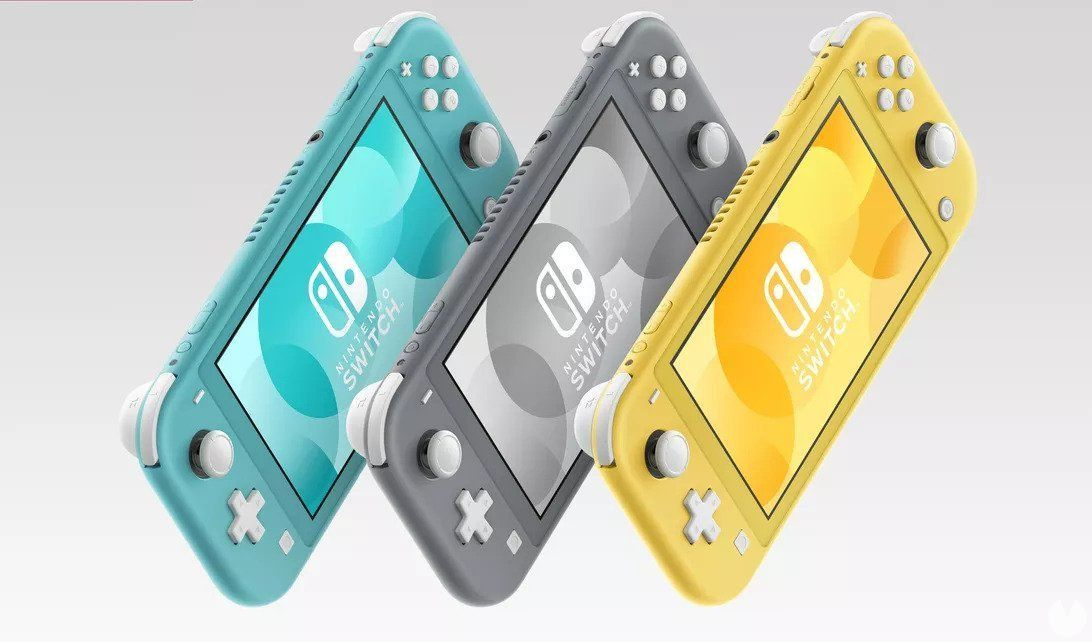 Nintendo confirms that Switch Lite is the only new hardware this year