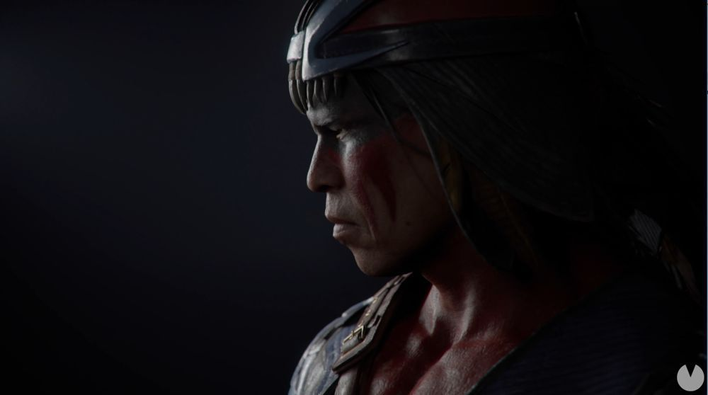First look at Nightwolf, one of the fighters, downloadable Mortal Kombat 11