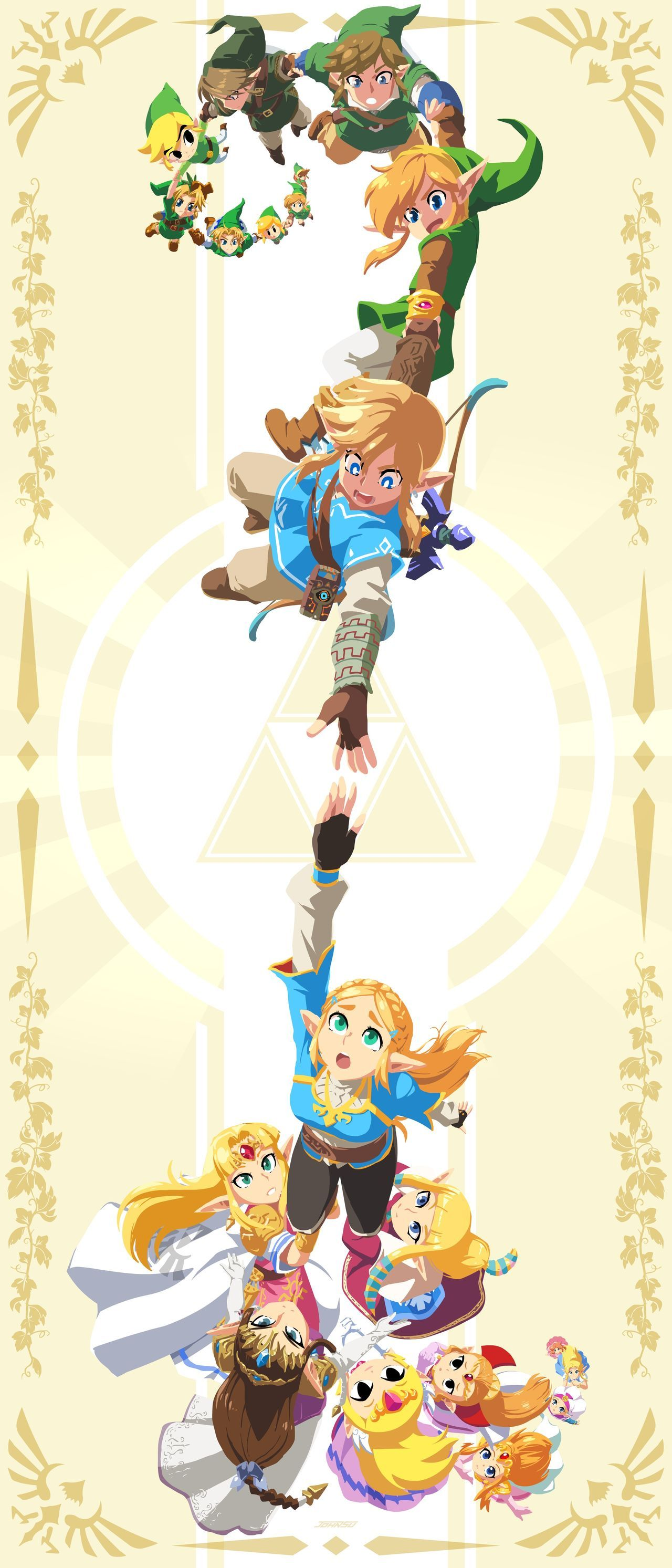 John Your, Blizzard, pays homanaje to The Legend of Zelda with an illustration special