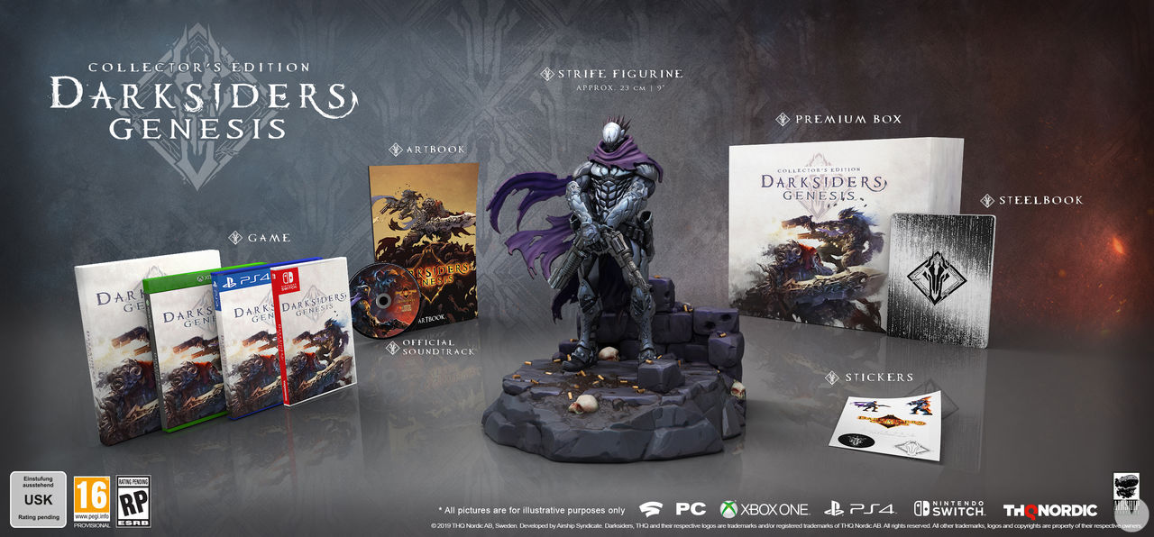 Darksiders Genesis presents two special editions, one of almost 400 euros