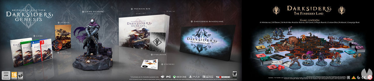 Darksiders Genesis presents two special editions, one of which almost € 400