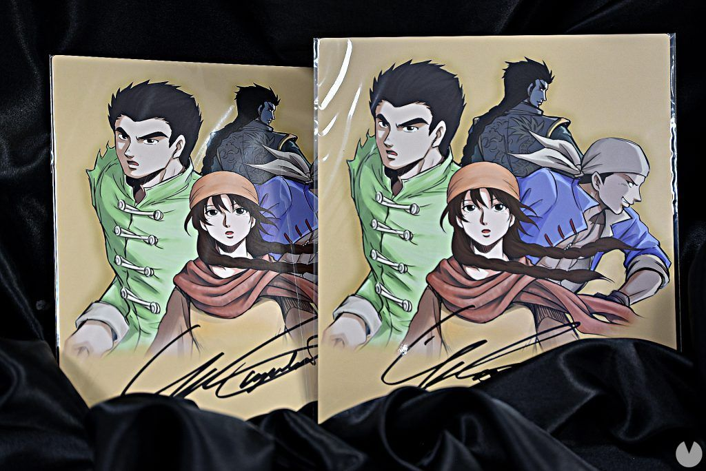 Shenmue III shows the rewards and physical game for the patrons