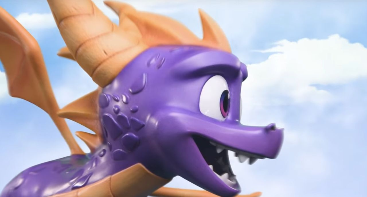 First 4 Figures is preparing a statue of Spyro the Dragon